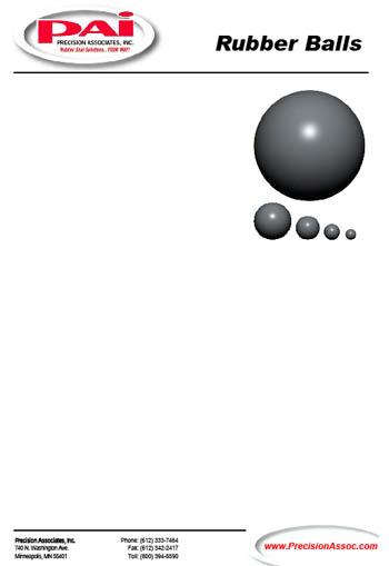 Ball Brochure On Precision Associates Inc